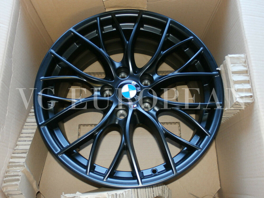 Bmw F32 F33 4 Series Genuine Black Matt M Double Spoke 405