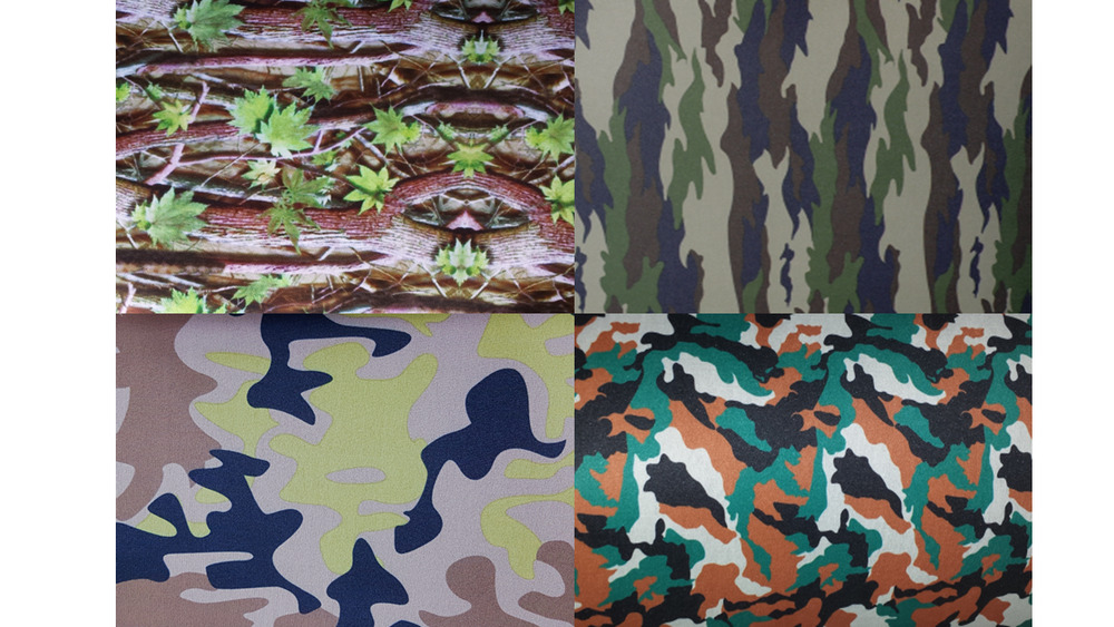 neoprenstoff stoff meterware wasserdichter camouflage schwarz tarnmuster ebay. Black Bedroom Furniture Sets. Home Design Ideas
