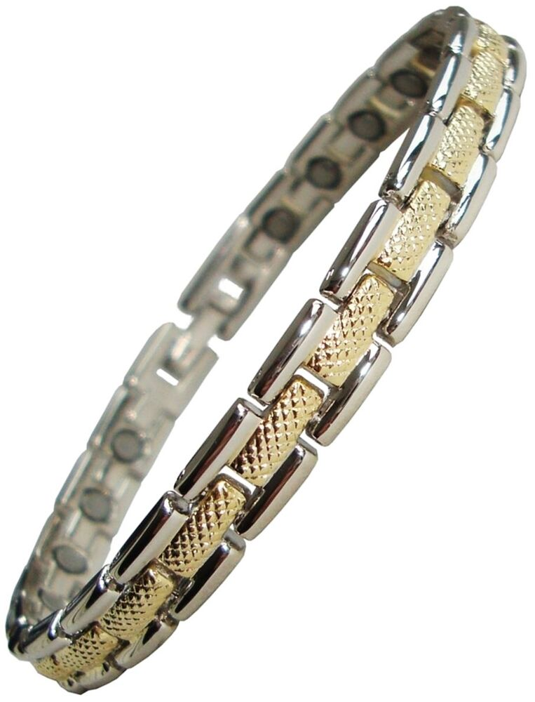 Womens Or Mens Magnetic Therapy Bracelet Ladies Pain