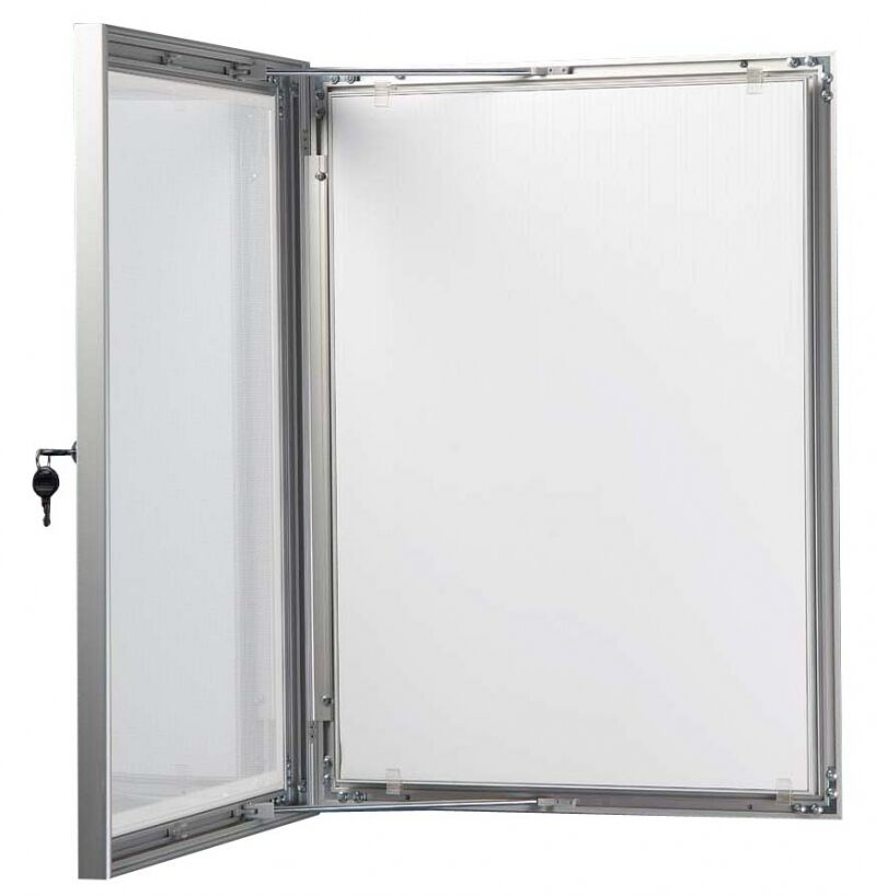 A1a2a3a4 outdoor lockable display case box poster menu holder notice board ebay for Exterior display case