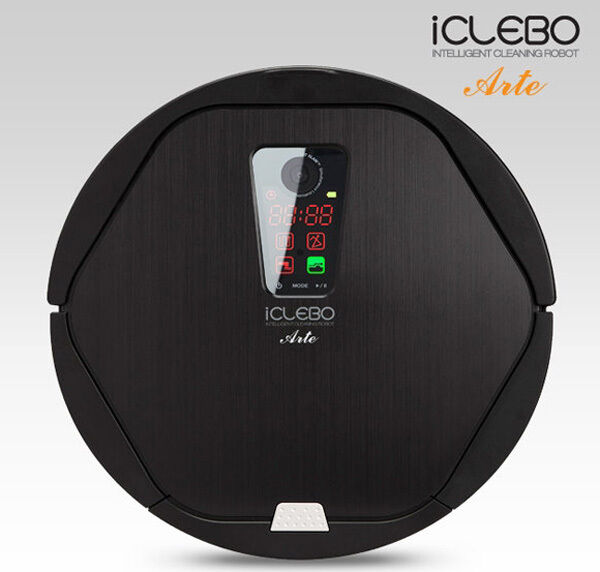 iclebo arte robotic robot vacuum cleaner ycr m05 30 english russia manual ebay. Black Bedroom Furniture Sets. Home Design Ideas