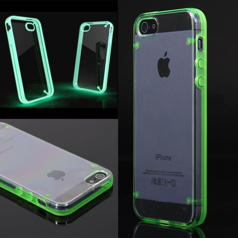 iphone 5s glow in the dark case clear glow in the luminous fluorescence cover 4888
