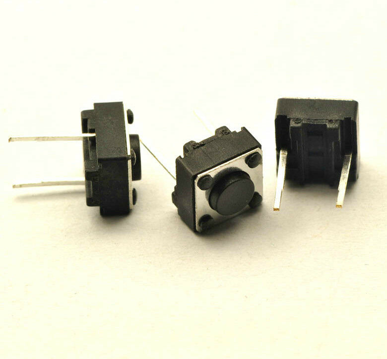 20 Tactile Switch 6 X 6 X 4 3mm Pcb Non