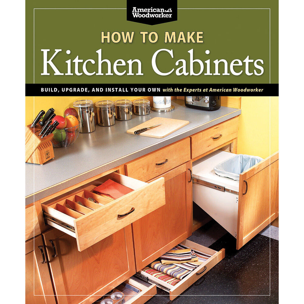 how to make kitchen cabinets book ebay