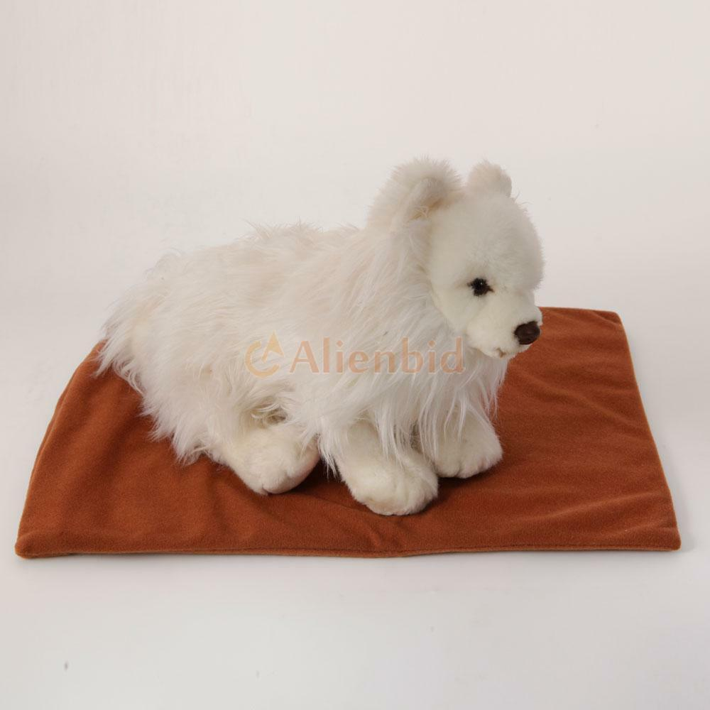 Hot sell warmer dog cat rabbit reptile heated bed pad 110v for Hot dog heating pad