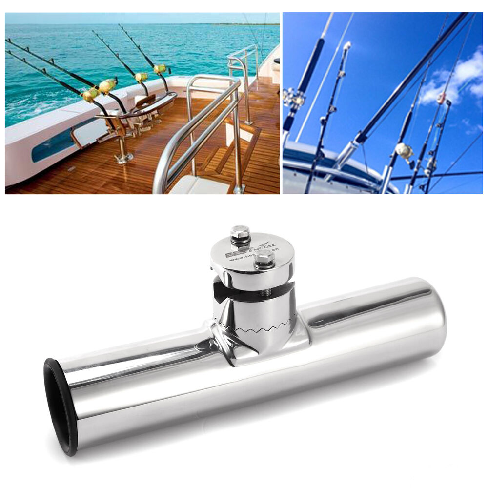 316l Stainless Steel Fishing Rod Holder Boat Sea Tackle