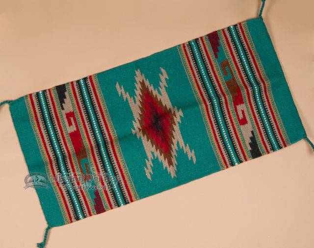 Southwest Hand Woven Wool Rug Wall Hanging 20 Quot X40