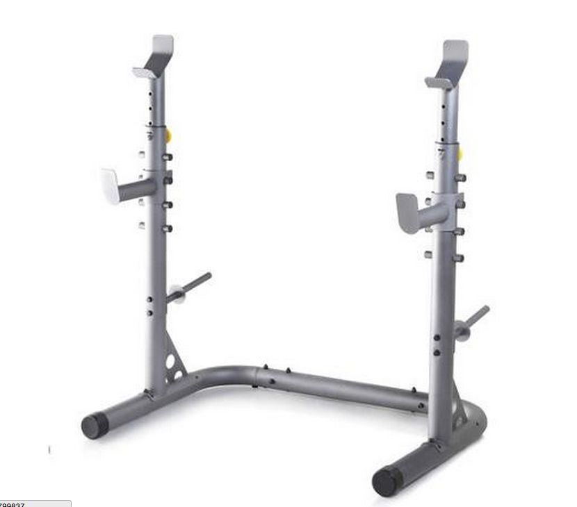 Olympic Power Lifting Rack Strength Weight Stand Squat