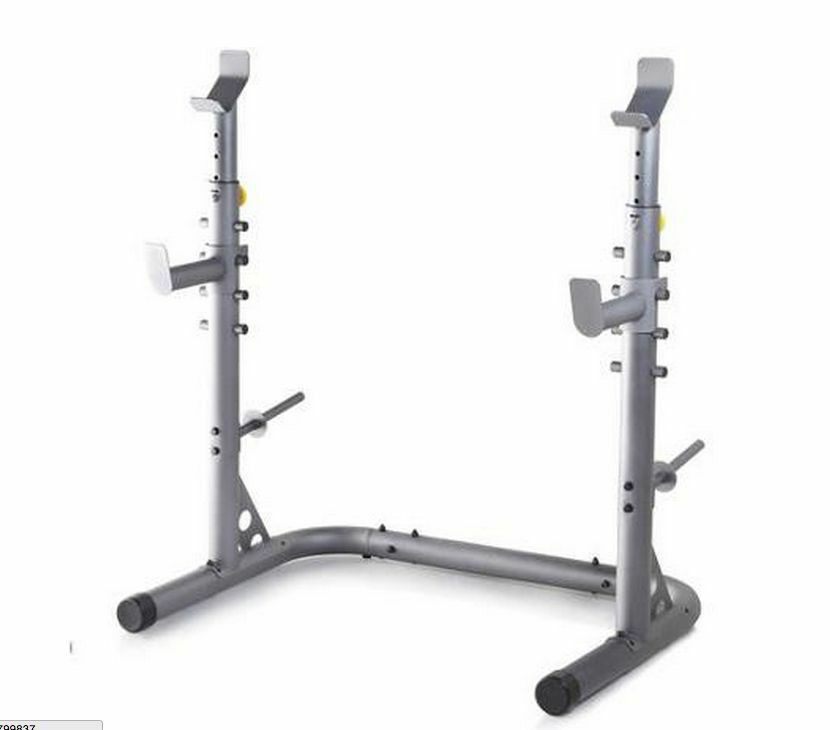 Olympic Power Lifting Rack Strength Weight Stand Squat Bench Curl Pull Up Cage Ebay