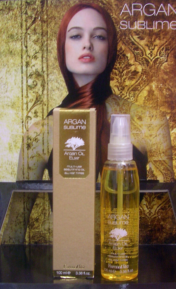argan sublime argan oil elixir 100ml argan l haarpflege. Black Bedroom Furniture Sets. Home Design Ideas