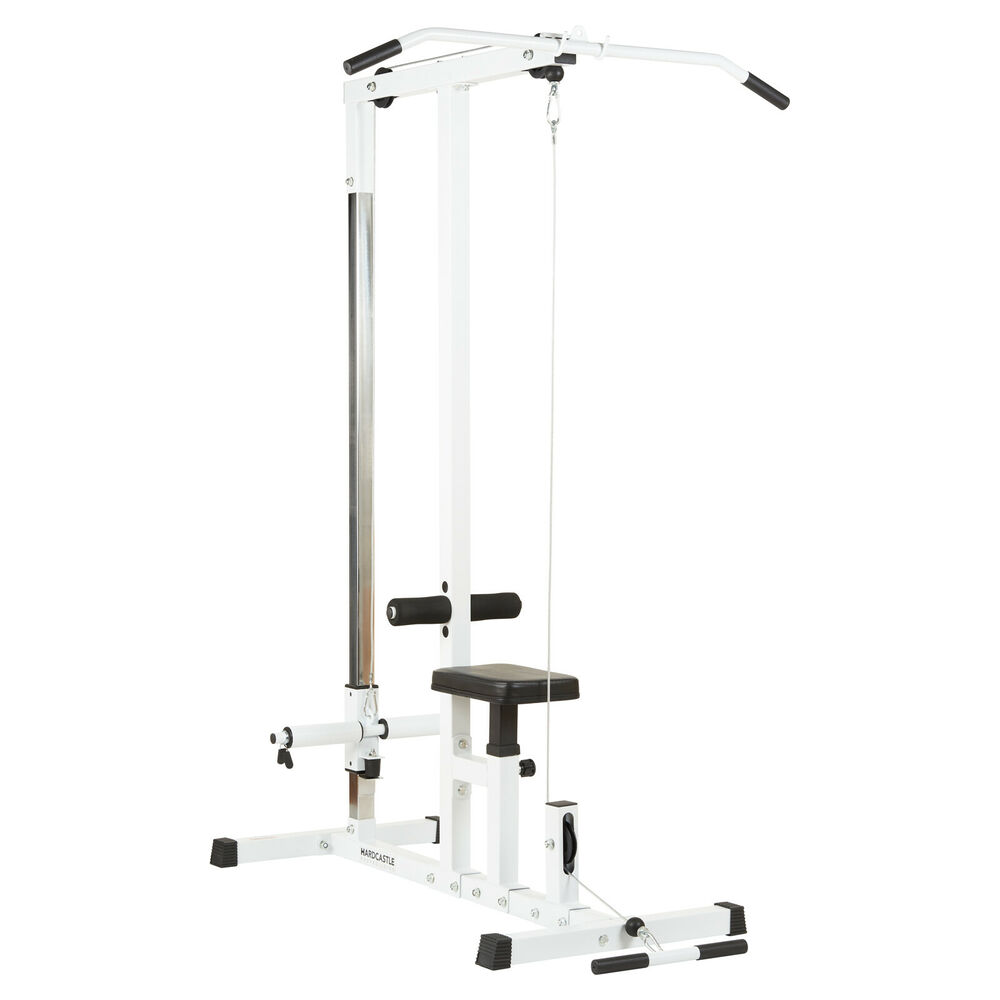Hardcastle Home Fitness Mutli Gym Lat Pull Down Workout