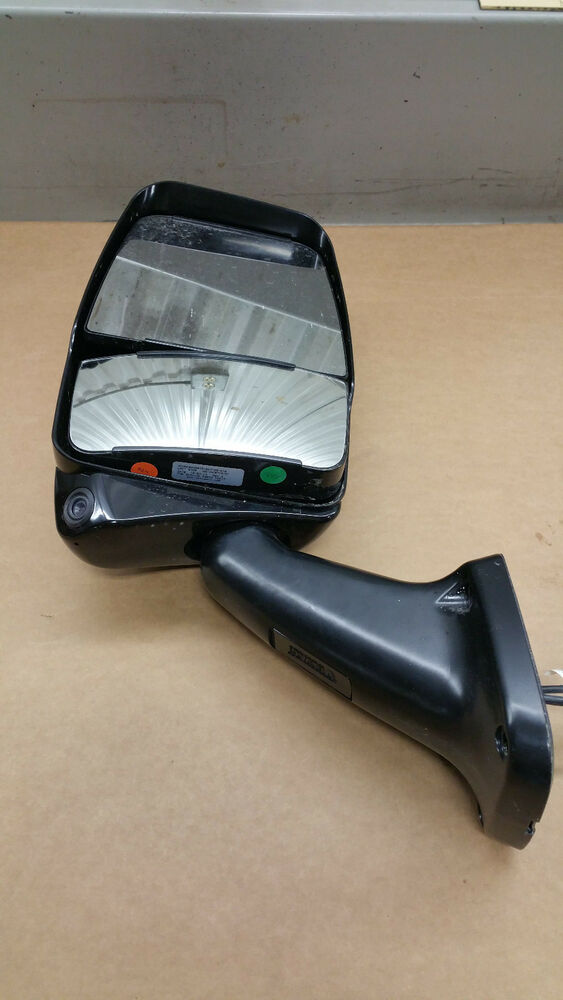 Rv Side Mirrors : Velvac exterior mirror driver side w remote heat camera