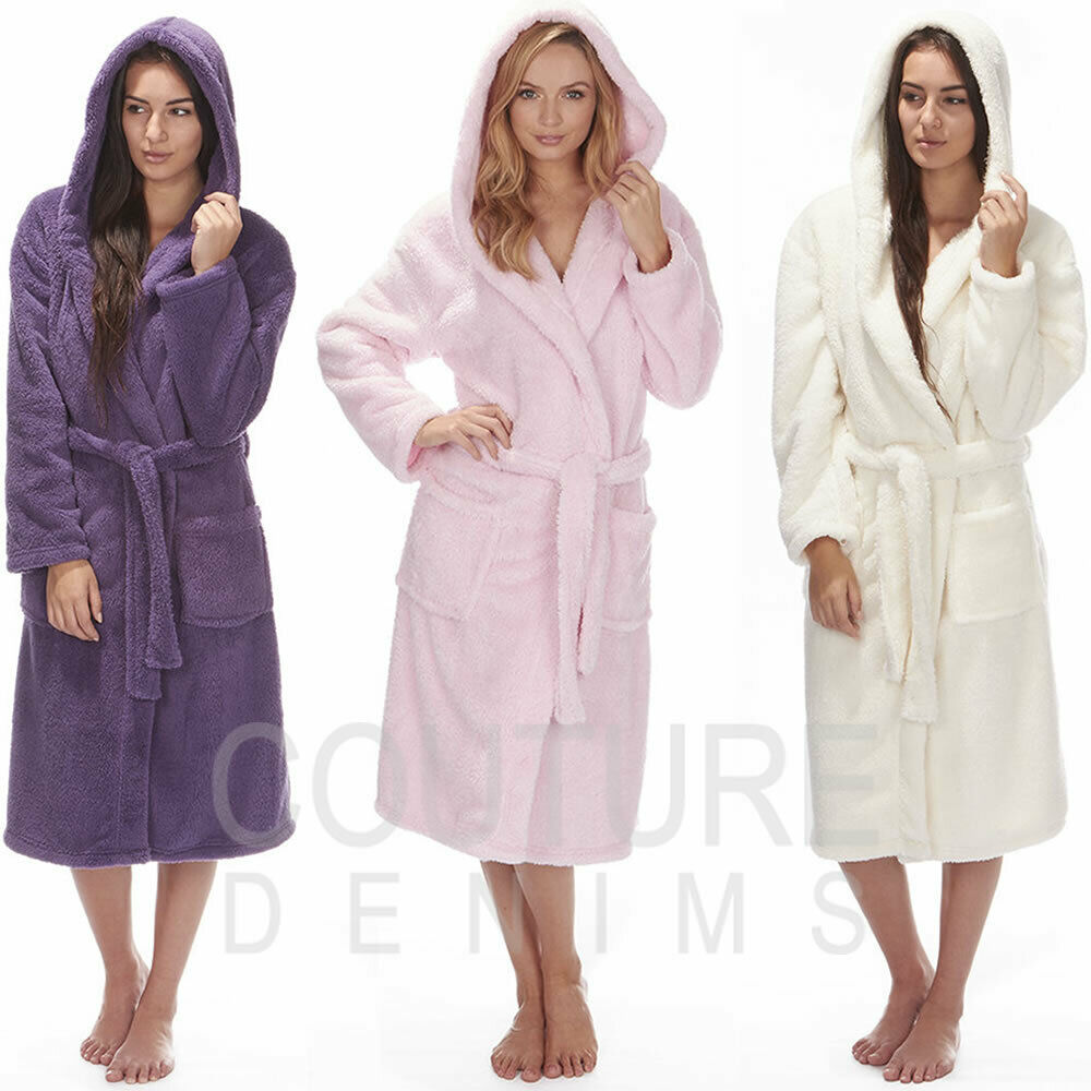 Fantastic Ladies Fluffy Dressing Gown Component - Wedding and ...