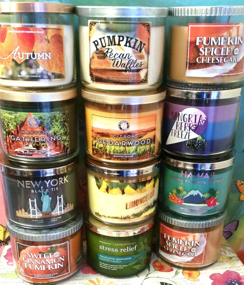 Bath and body works free 3 wick candle coupon
