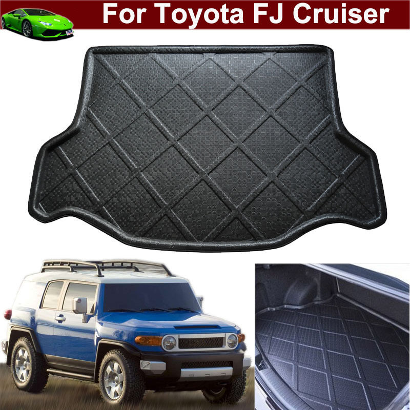 car mat cargo liner mat tray trunk floor mat for toyota fj. Black Bedroom Furniture Sets. Home Design Ideas