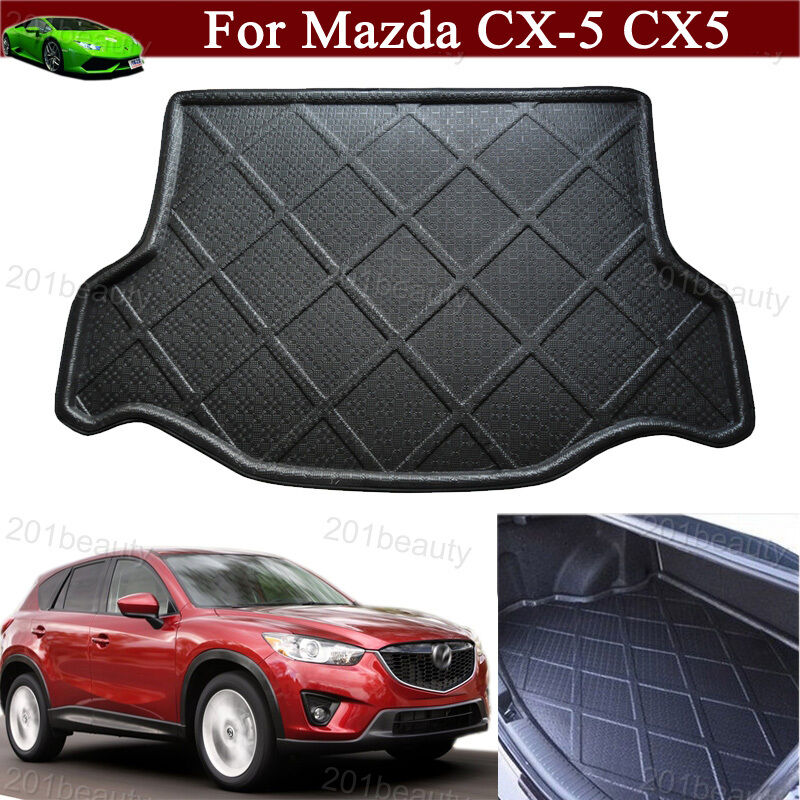 car mat cargo liner mat tray trunk floor mat for mazda cx5 cx 5 2008 2016 2017 ebay. Black Bedroom Furniture Sets. Home Design Ideas