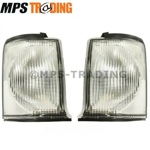 Pair Of Clear Front Indicator Lights For Land Rover