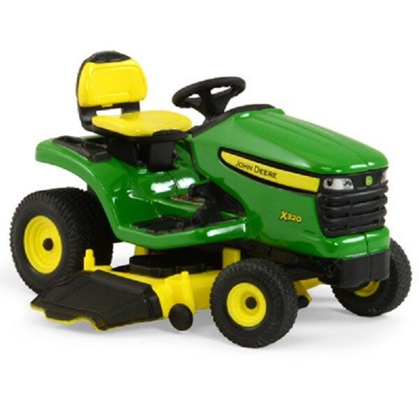 John Deere 1 16 Scale X320 Lawn Tractor With Mower Deck