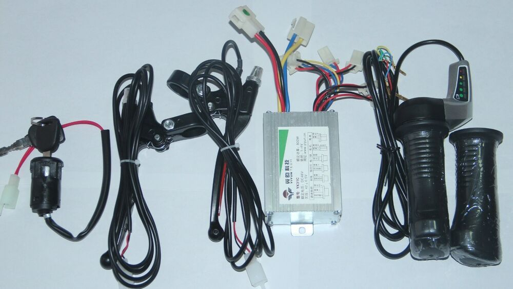 Electric Scooter 24v 500w Motor Brushed Controller