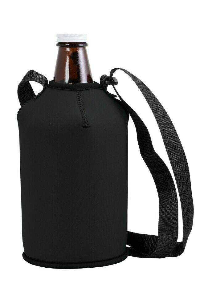 Growler Cover Coolie W Strap Neoprene 64 Oz Ebay