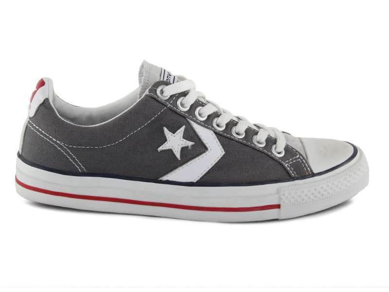 CONVERSE STAR PLAYER OX ANTRACITE/ROSSO 123136 Sneakers Unisex