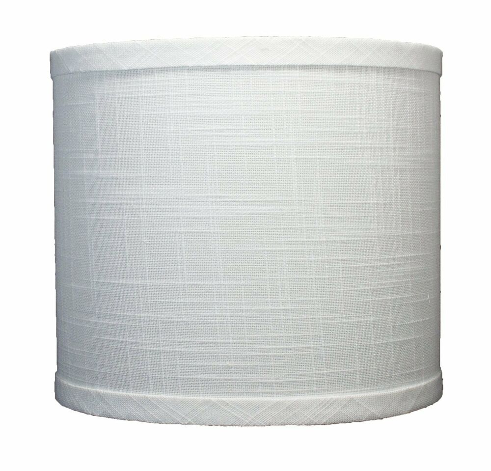 urbanest linen drum lamp shade 8 x 8 inch x 7 inch off white. Black Bedroom Furniture Sets. Home Design Ideas