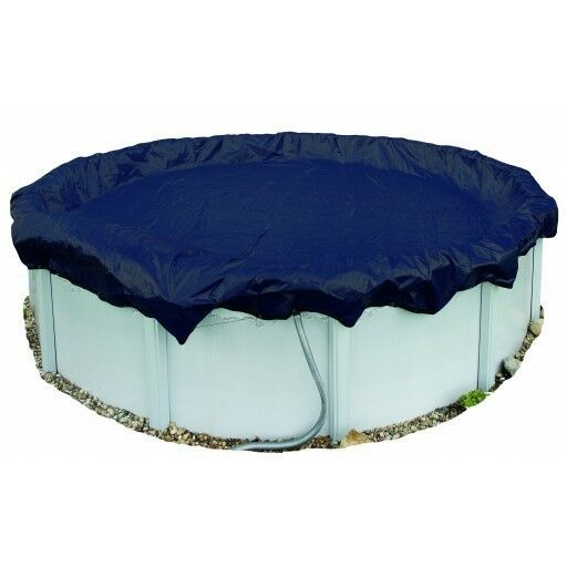 33 Round Arctic Armor 8yr Solid Above Ground Winter Pool
