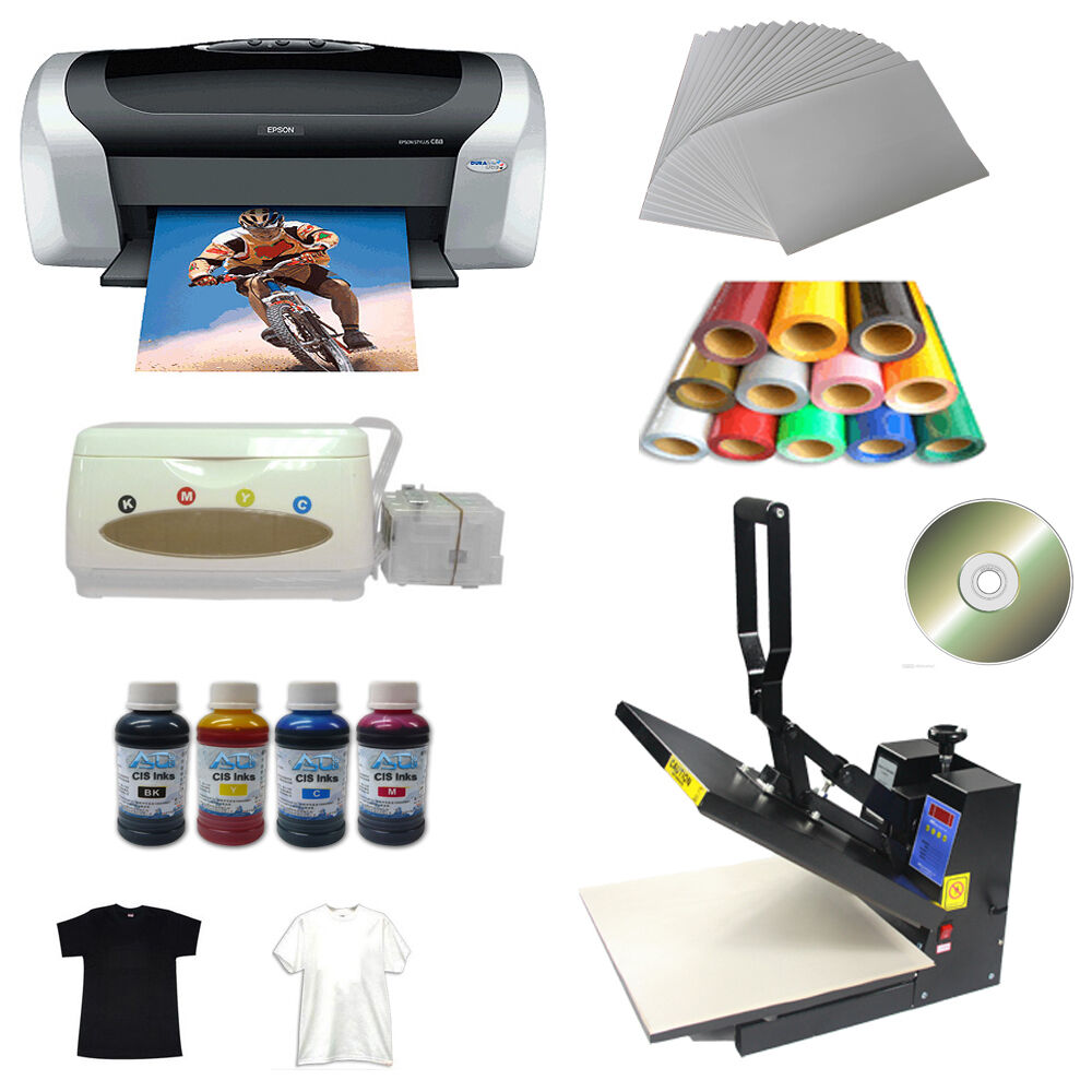 Heat Press Machine Transfer Paper Pu Vinyl Printer Ink