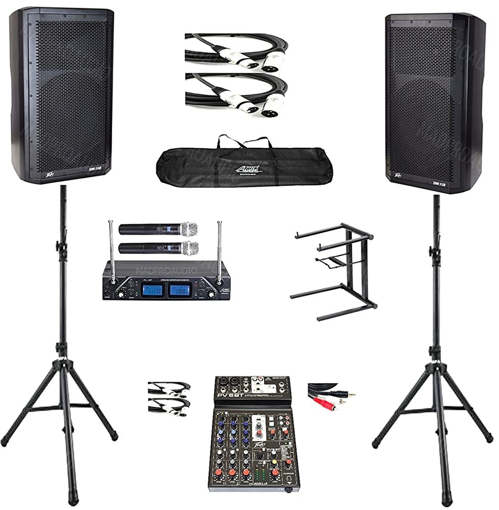 Karaoke Equipment Professional Karaoke System Peavey Dm112