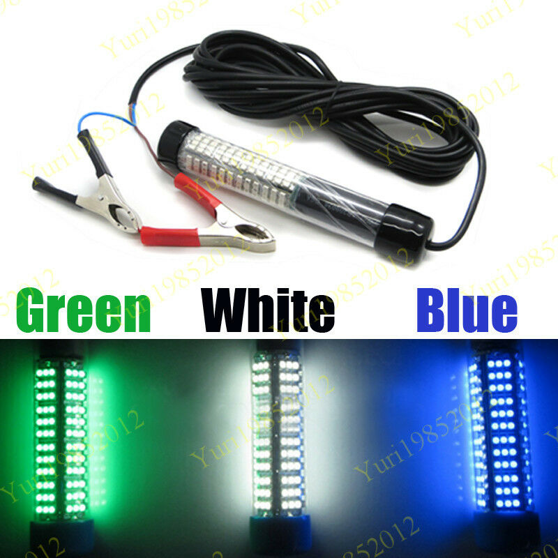 12v green blue white underwater bait sumbersible led for Submersible fishing light