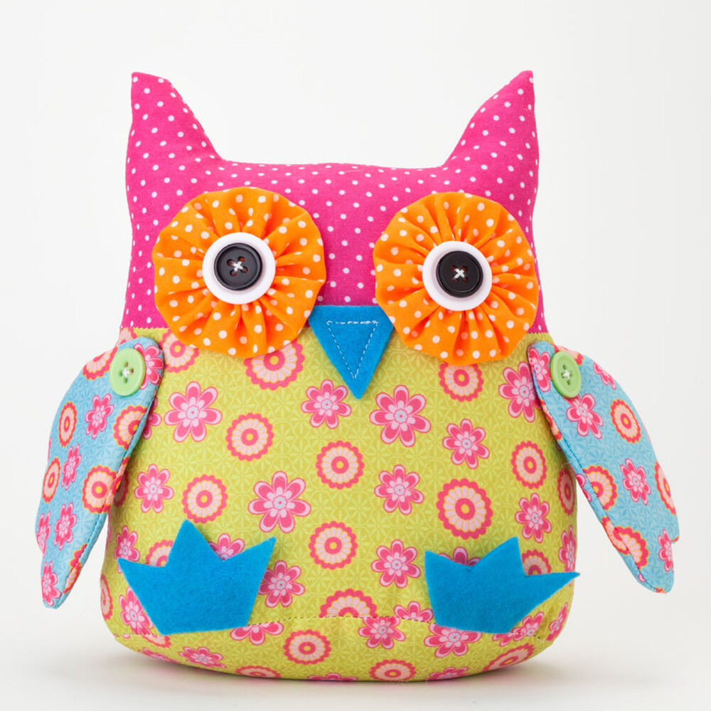 Stuffed Plush Owl New Sealed Ebay