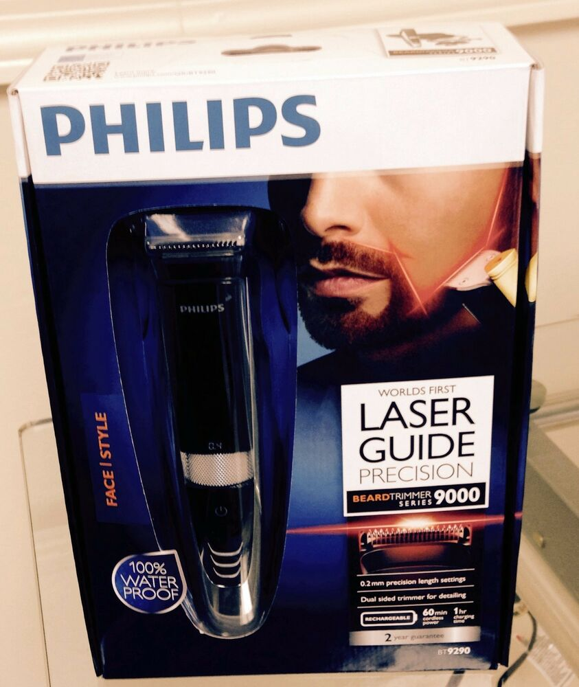 Philips Bt9290 32 Beardtrimmer Waterproof Laser Guide