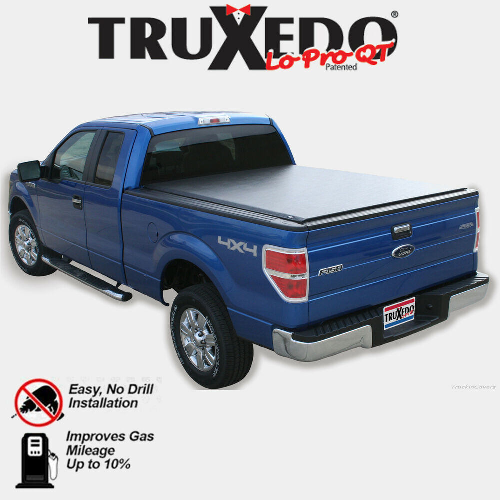 TruXedo LoPro QT Roll Up Tonneau Cover 08-15 Ford F250