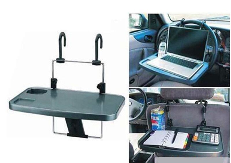 New car laptop holder tray bag mounts back seat auto table for Stand auto
