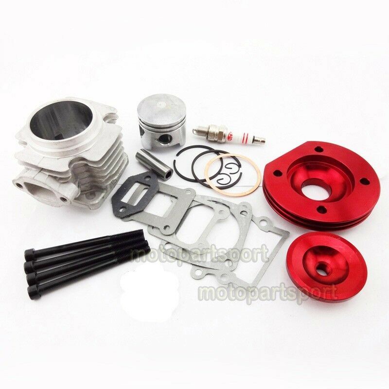 44mm big bore cylinder kit for 47 49cc engine mini dirt atv pocket bike minimoto ebay. Black Bedroom Furniture Sets. Home Design Ideas