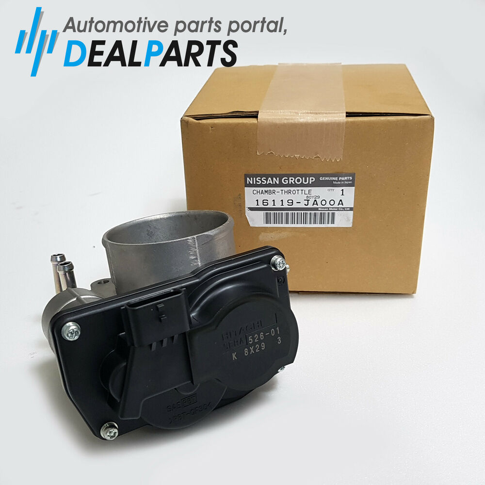 Genuine Fuel Injection Throttle Body 16119 Ja00a For