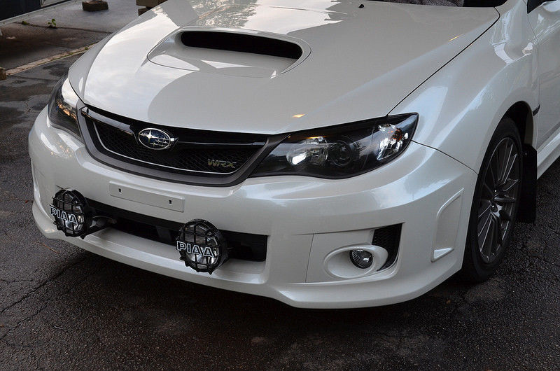 Piaa 510 Star White Bumper Grille Driving Lights Kit For