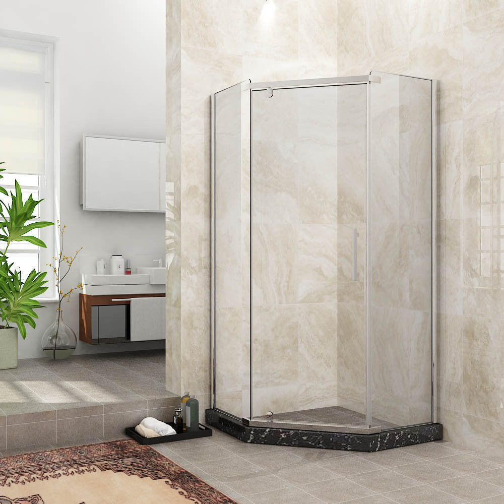 Cheap walk in shower kits cool absolutely stunning walkin Walk in shower kits
