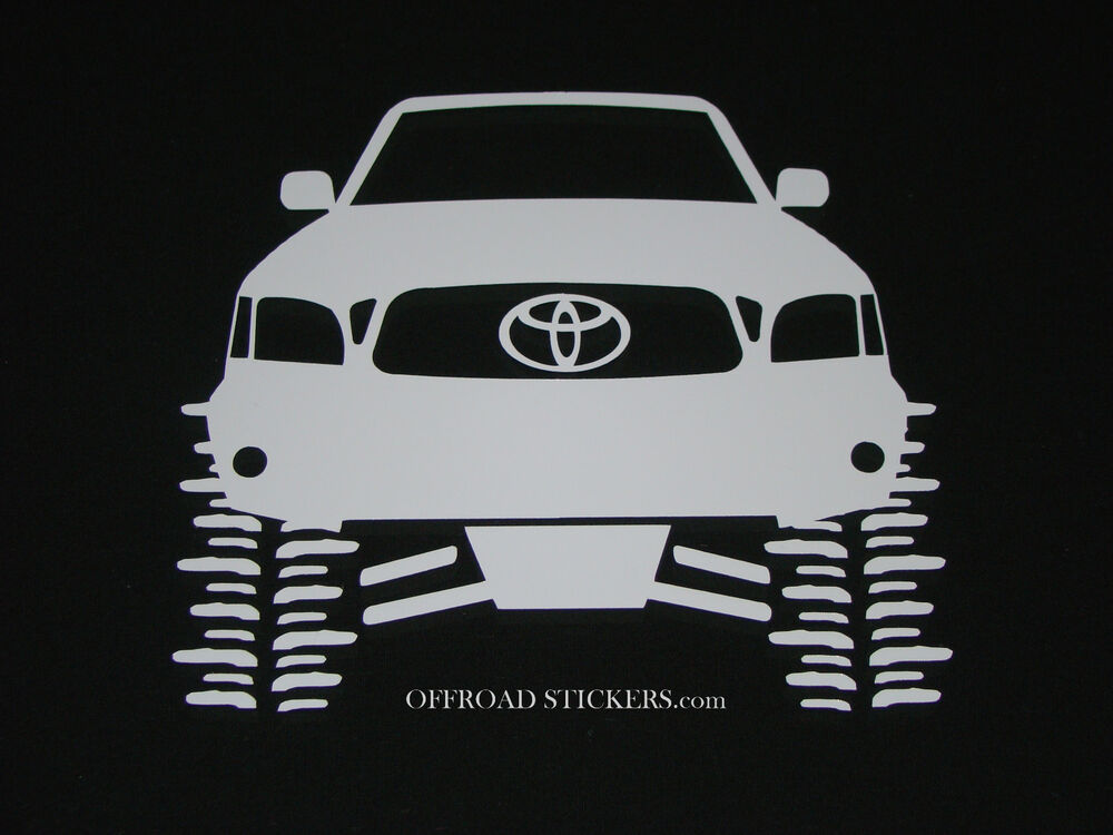 Toyota Tacoma Flexing_TRD_Lifted Rock Crawler_Sticker/Decal -20 | eBay