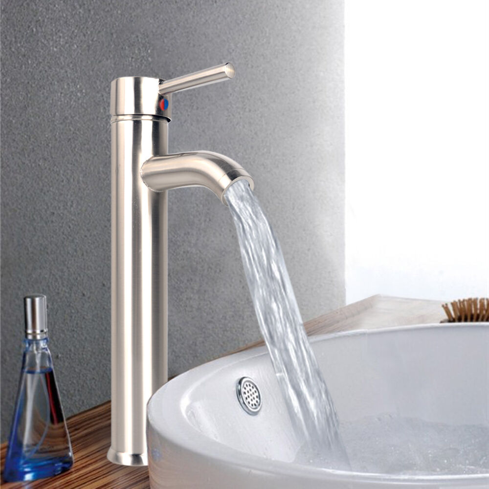 kitchen and bathroom faucets bathroom kitchen 12 quot tall single handle tub water channel faucet bathtub ebay 6550