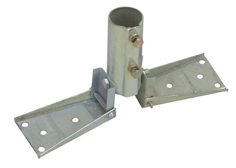 Economy Roof Mount For Masts Up To 1 3 8 Quot Od Ez 17
