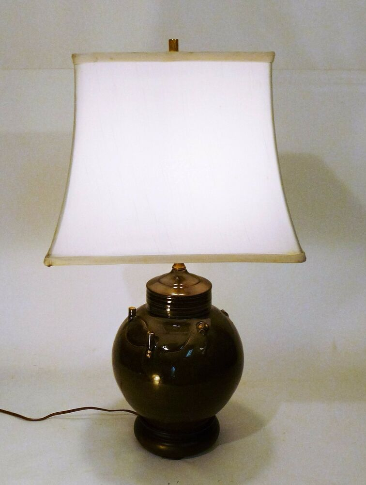 Vintage Mystery Design Chinese Style Ceramic Table Lamp
