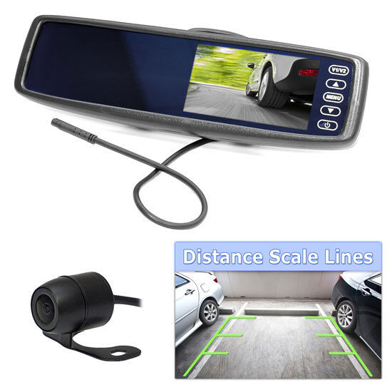 Pyle Backup Camera >> Pyle PLCM4300WiR Vehicle Wireless Rear View Mirror Back-Up Camera and Monitor | eBay