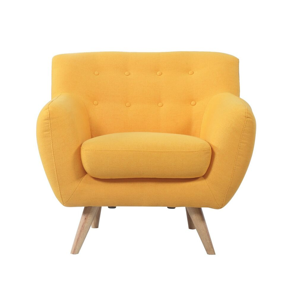Mid century modern comfortable tufted button living room for Amazon mid century modern furniture