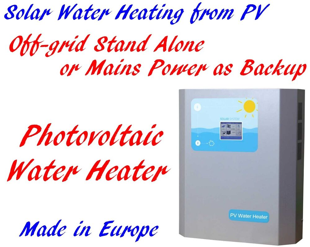 1 5kw Off Grid Stand Alone Pv Photovoltaic Solar Hot Water