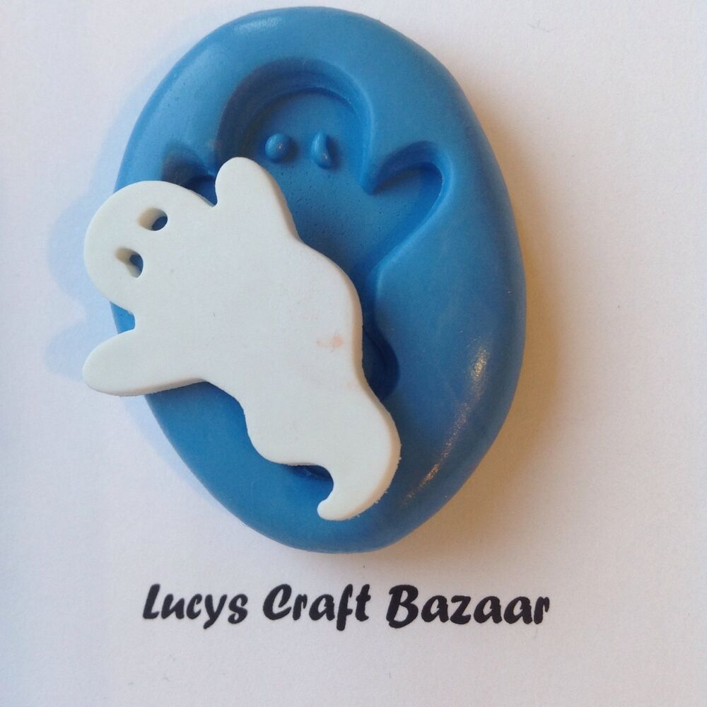 Cake Decorating Job Vacancies Uk : Silicone Mould Spooky Halloween Ghost Cake Decorating ...