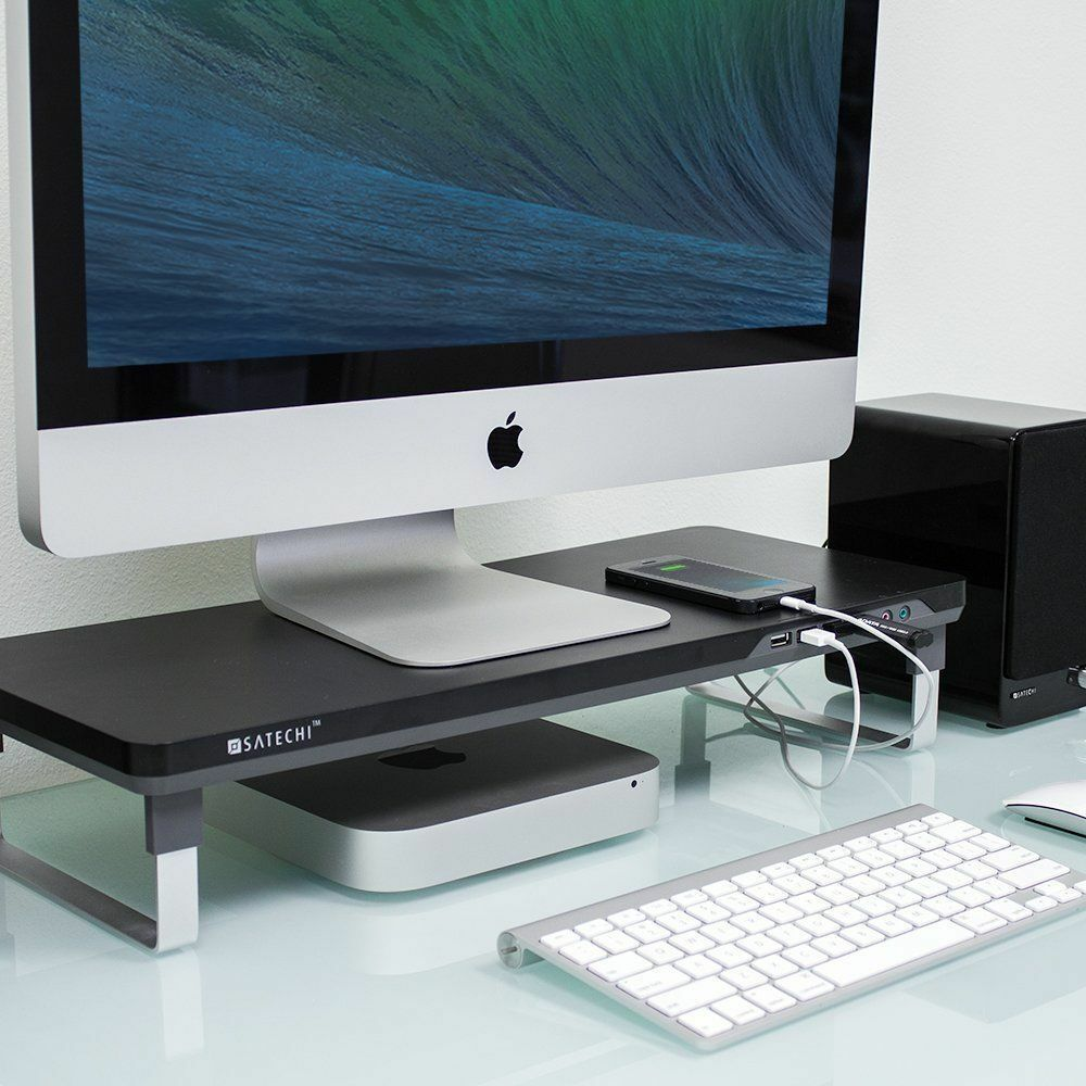 Computer Imac Laptop Pad Desktop Workspace Monitor Riser