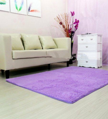 120 160cm soft modern shag area rugs living room carpet