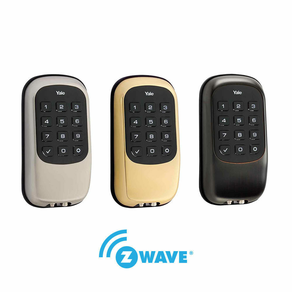 Yale Real Living Key Free Electronic Push Button Deadbolt