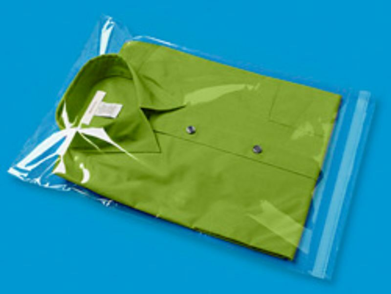 Garment bags clear cellophane plastic self seal packaging for Clear shirt packaging bags